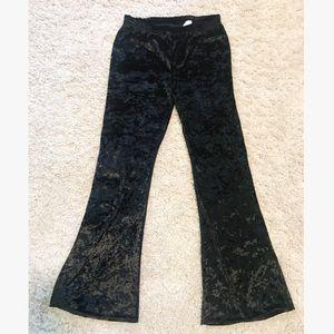 1970s Vibes crushes velvet bell bottoms